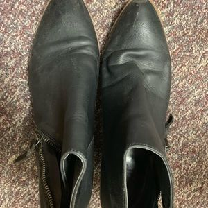 Black sam Edelman booties